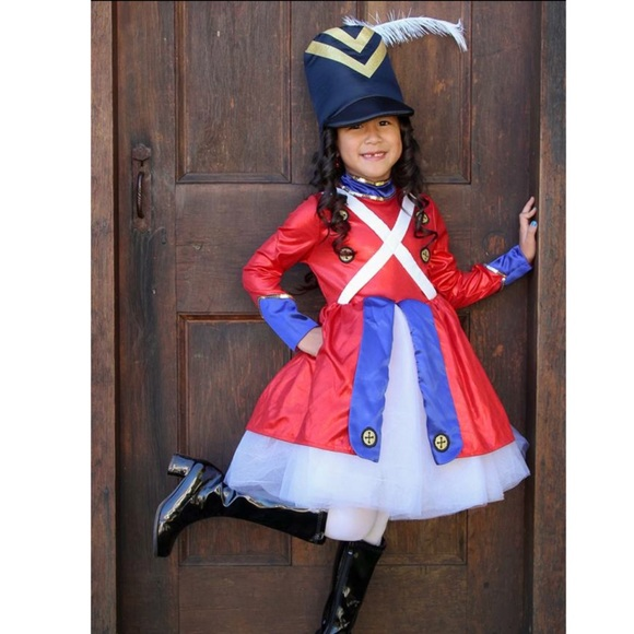 Chasing Fireflies Costumes Rockettes Toy Soldier Costume For Girls